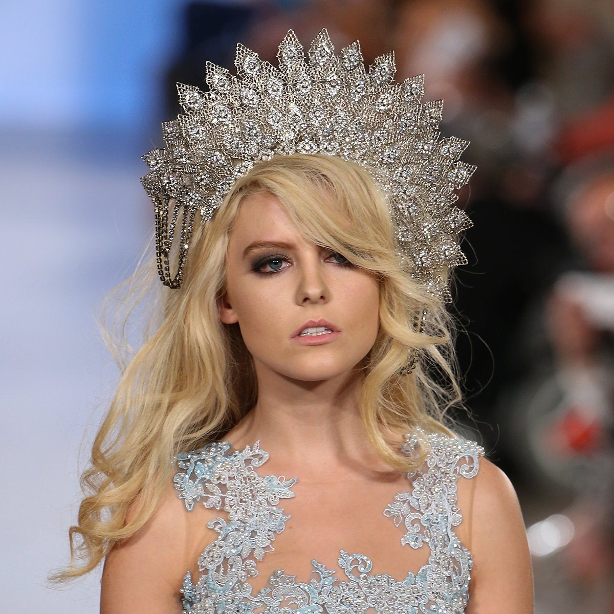 Carmen Steffens Runway Models wearing Ellen Hunter NYC