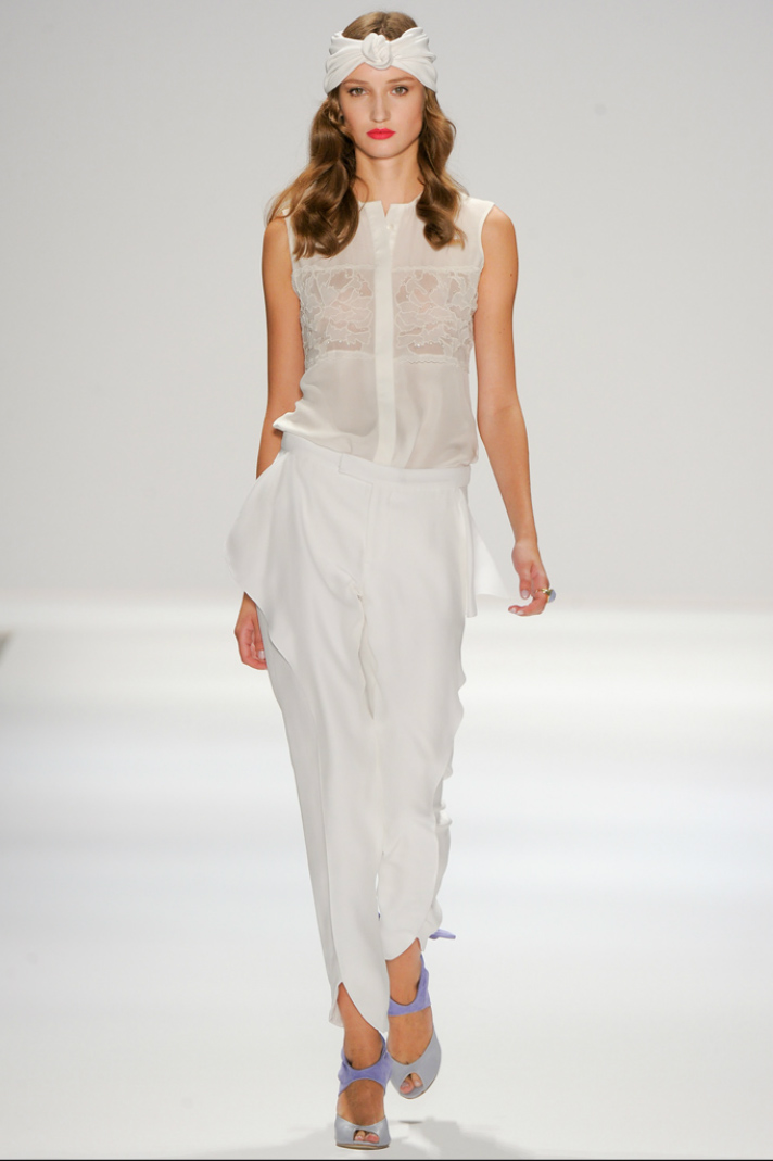 Lucu Luca Runway Models wearing Ellen Hunter NYC